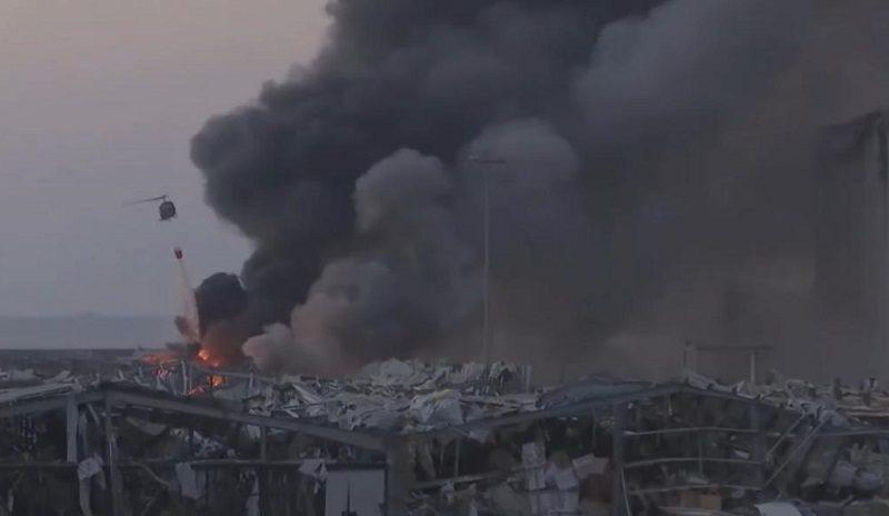 Бейрут стал зоной стихийного бедствия после разрушительного взрыва в порту
