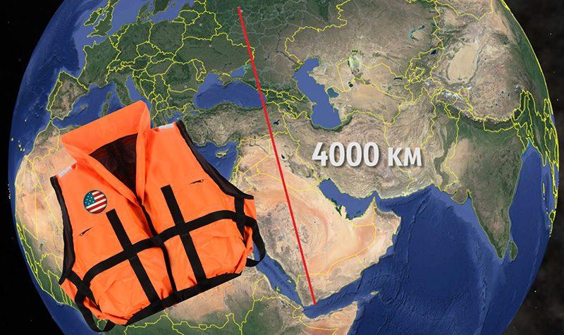 Как жилет моряка ВМС США всплыл через 4000 км в озере подмосковного леса?