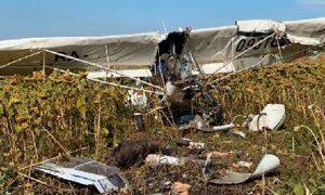 Под Ульяновском разбился самолет, нелегально орошавший поля. Есть жертвы