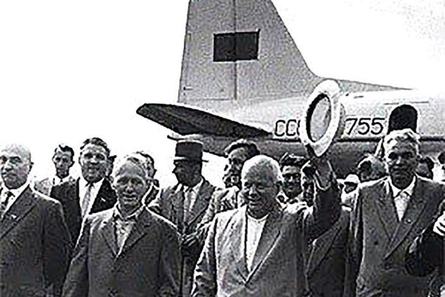 Легендарный «борт №1» Хрущёва случайно нашелся на полярном кладбище погибших самолетов
