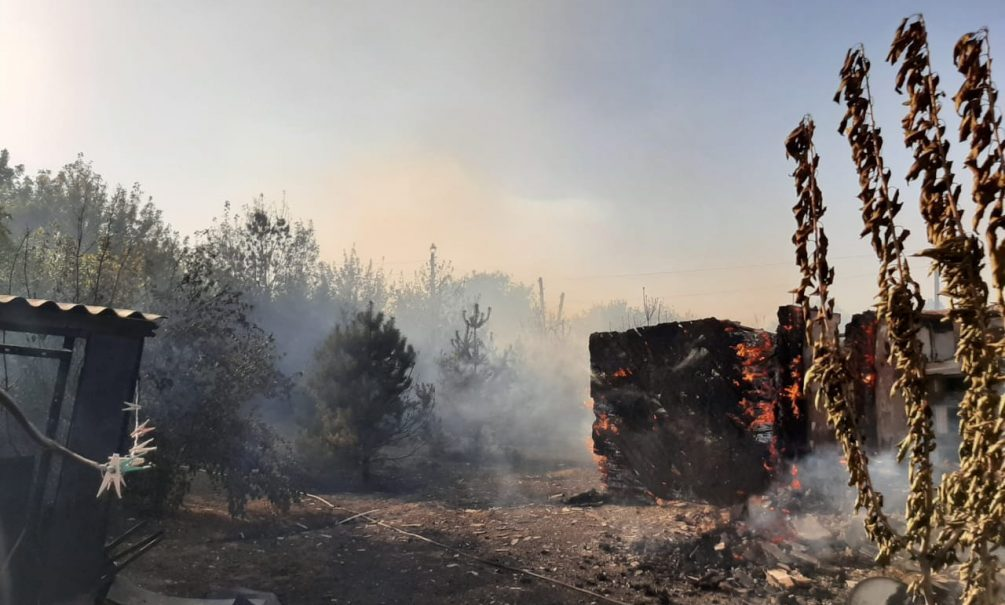 «Все дотла сгорело»: Ростовскую область охватили страшные пожары