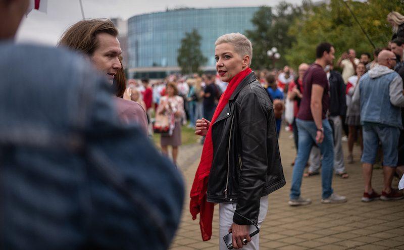 Спецслужбы Белоруссии нашли «пропавшую» Колесникову на границе с Украиной при попытке к бегству