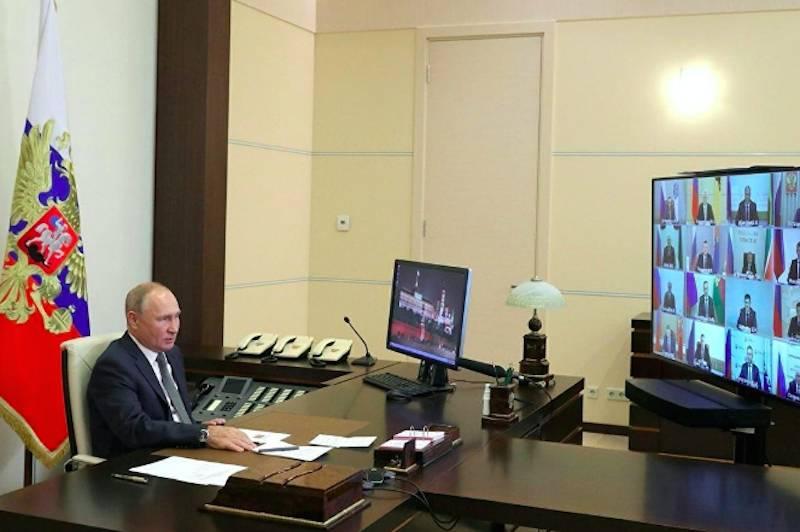 «Спасибо Путину за это!»: губернаторы установили рекорд по благодарностям