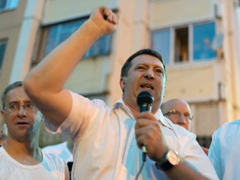 Руководитель «Единой России» довёл воронежцев до погрома объекта застройщика