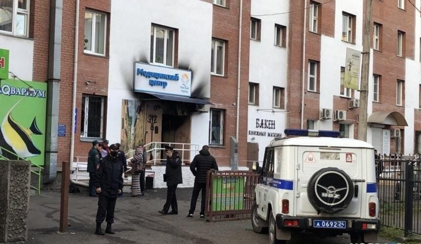 В Красноярской наркологической клинике четыре пациента сгорели заживо