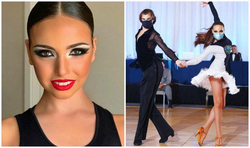 «Танцевали в масках и чуть не умерли»: дочь Худякова о турнире по бальным танцам