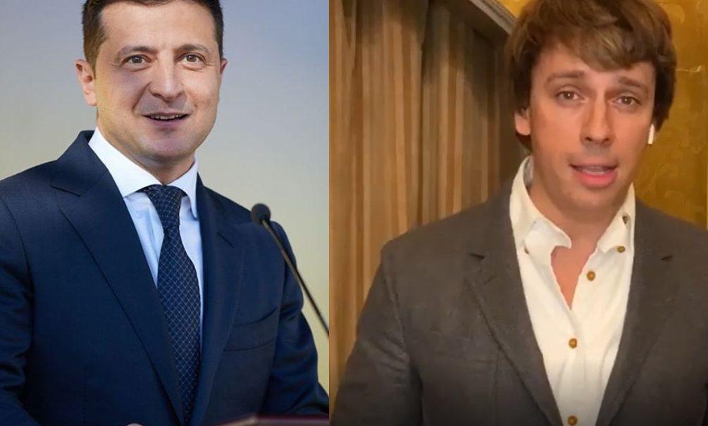 «Закрой рот, чучело»: украинцы обхамили Галкина из-за пародии на Зеленского