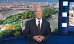 Собянин похвастался успехами Москвы в борьбе с коронавирусом и похвалил себя за QR-коды