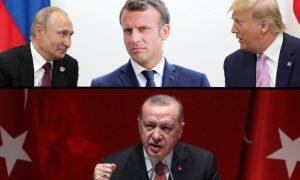 Путин, Трамп и Макрон сказали свое слово по Карабаху. Эрдоган тут же велел им умолкнуть