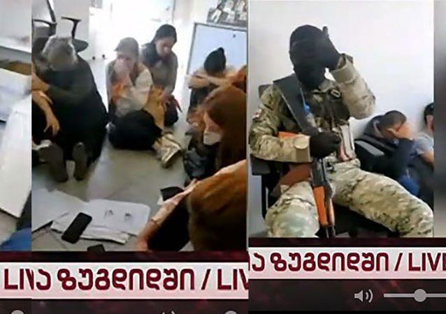 Захват заложников в Грузии. Хроника событий
