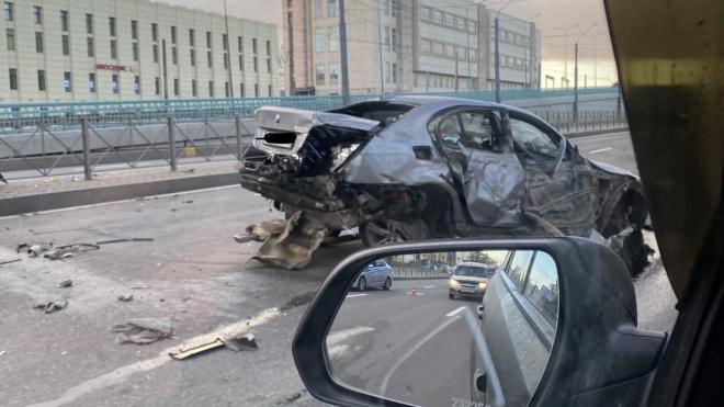 Водитель BMW в Петербурге устроил «игру в догонялки» с ДПС. И выиграл