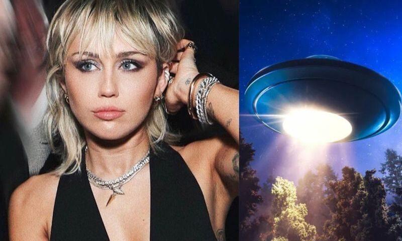 «Видела существо»: Майли Сайрус рассказала о встрече с НЛО