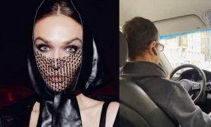 «Не нравятся правила? Вали в лес!»: таксист выгнал Алену Водонаеву из машины после ее просьбы надеть маску