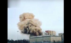 Мощный взрыв произошел в больнице Челябинска