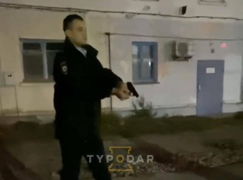Полицейский на Кубани расстрелял хулигана, напавшего на него