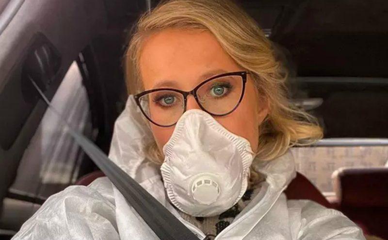 Ксения Собчак ответила на сообщения о том, что заражена коронавирусом