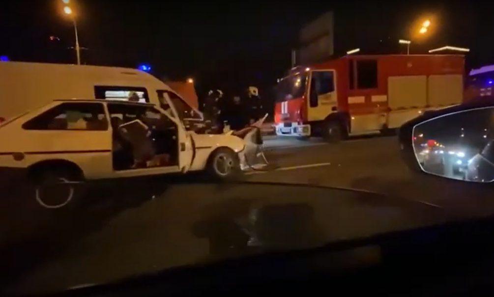 Вице-премьер правительства России пострадал в крупном ДТП на Кутузовском проспекте
