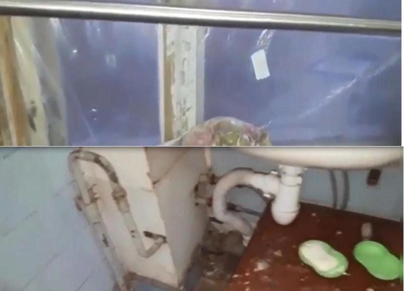 В Волжском пациентов с тяжелыми переломами госпитализируют в больницу с клеенками на окнах и раковинами на стуле