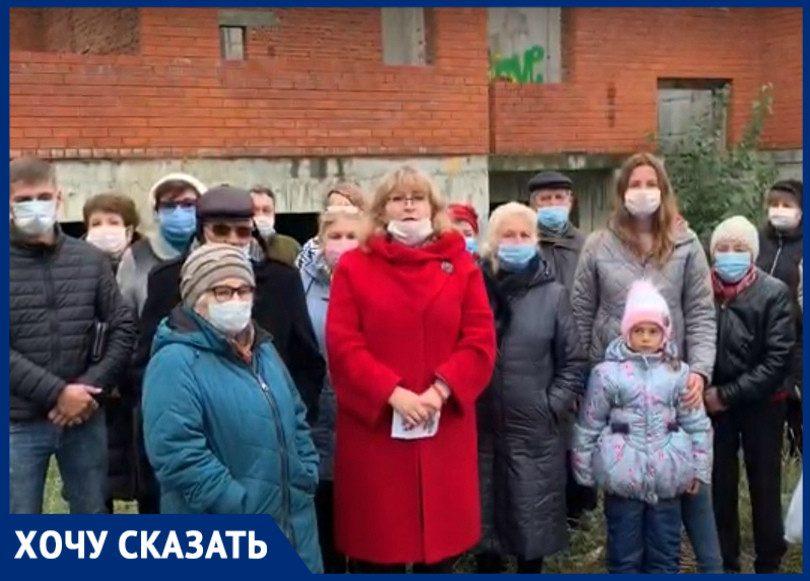 «Отдали 200 млн, а дом признали самостроем»: краснодарские пайщики попросили помощи у Путина
