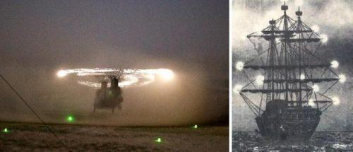 Стюардессе во время полета удалось заснять редкое явление, о котором мало кто знает
