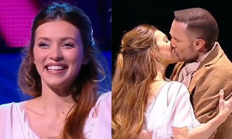 Тодоренко и Костомаров показали страстный поцелуй в эфире «Ледникового периода»