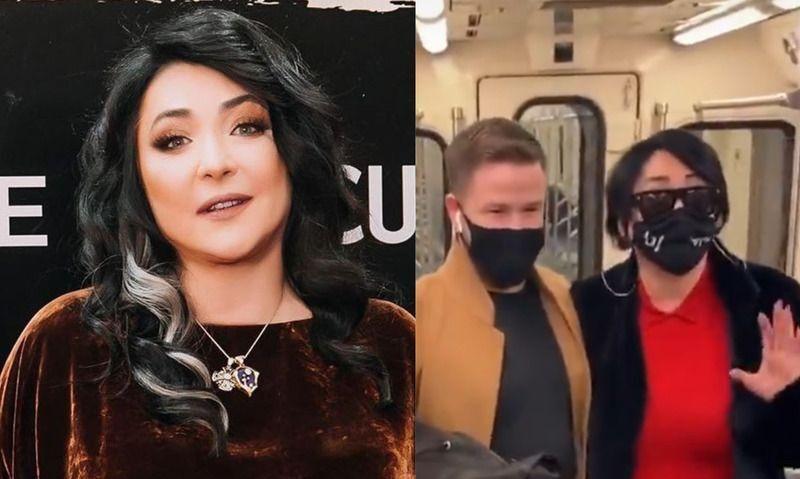 Лолита спустилась в метро, чтобы раздать одеяла: реакция москвичей ее удивила