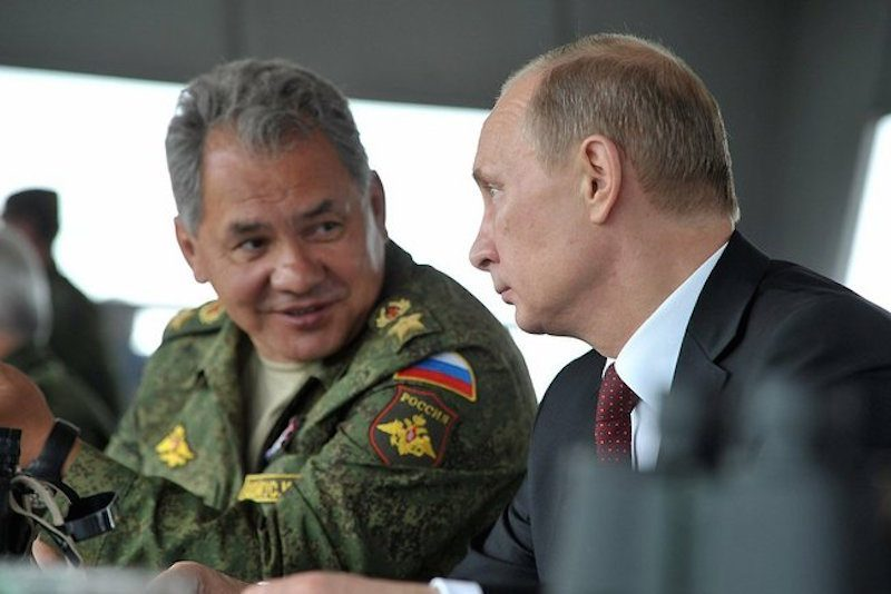 """Мы вас боимся"": шутка Шойгу понравилась Путину"