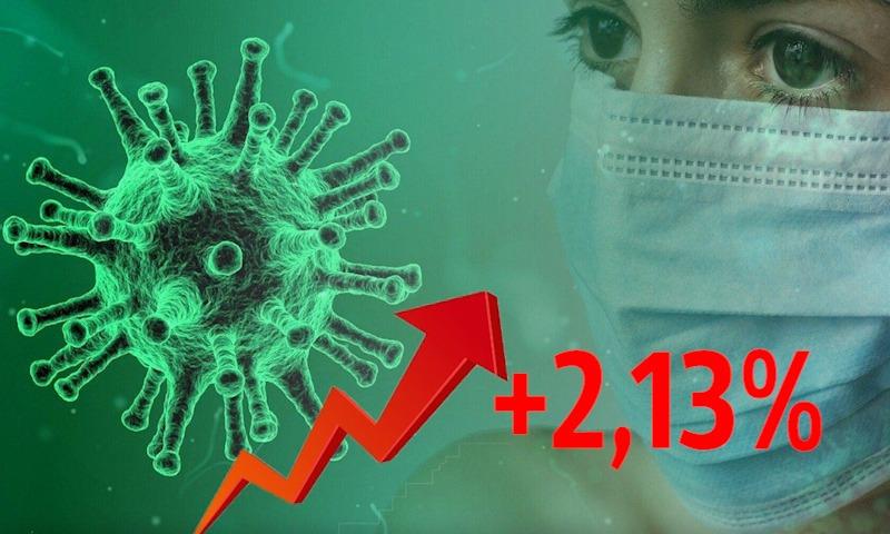 Динамика коронавируса на 1 ноября