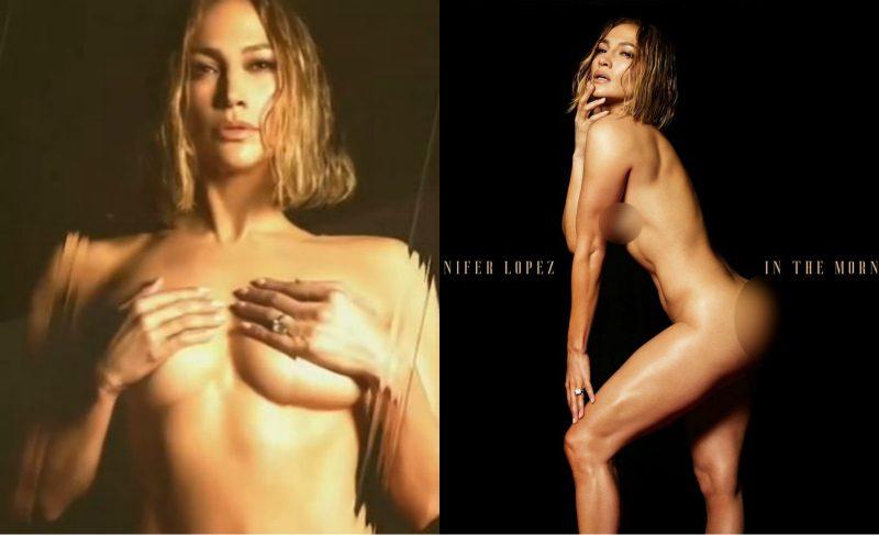 51-летняя Дженнифер Лопес снялась обнаженной для обложки нового сингла
