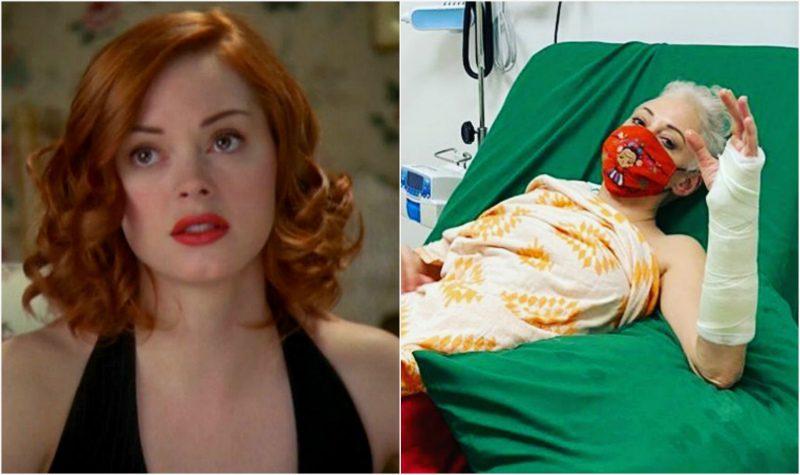 Наблюдавшая за выборами в США актриса из сериала «Зачарованные» сломала руку