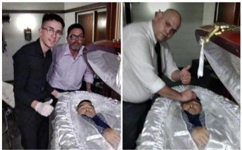 Фанаты Марадоны ищут могильщиков, чтобы убить их за издевку над кумиром