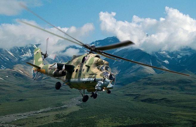 Азербайджан признал, что сбил российский военный вертолет