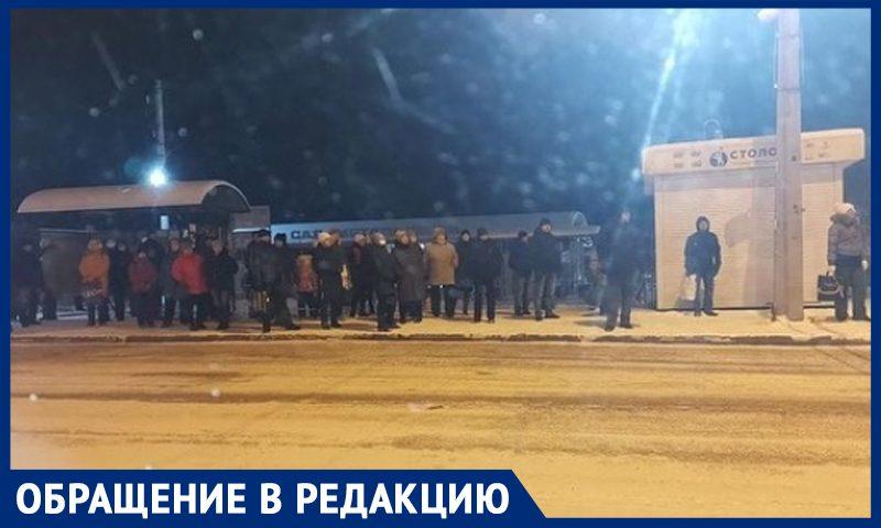Транспортная катастрофа в Новокузнецке: пассажиры мерзнут часами, автобусы переполнены