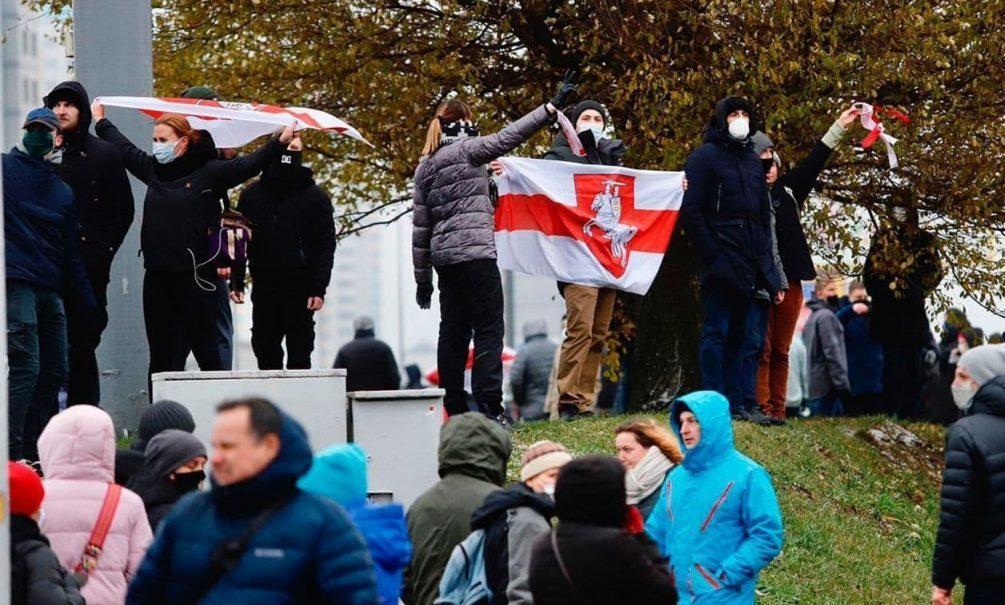 Милиция задержала более 200 человек на «марше против фашизма» в Минске