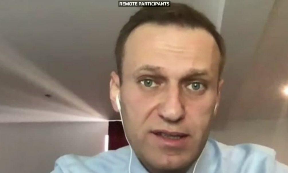 Навальный выступил в Европарламенте и предложил ввести санкции против своих богатых соотечественников