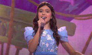 Участница из России заняла третье место с конца на «Детском Евровидении»