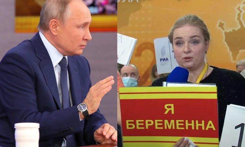 «Обманула президента и всех нас»: женщину, показавшую Путину табличку «Я беременна», хотят наказать