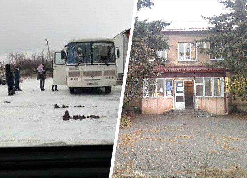 На Ставрополье жителей села лечат в холодном автобусе