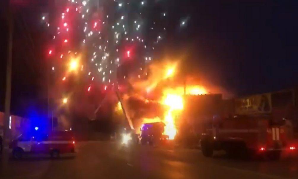 В Ростове начали «праздновать» Новый год