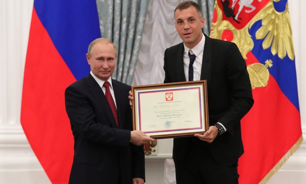Владимир Путин ответил на вопрос об интимном видео Артема Дзюбы