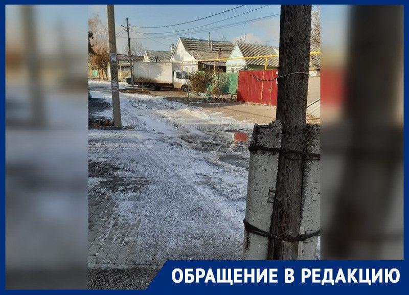 Ледяные реки из канализации превратили Шахты в гетто