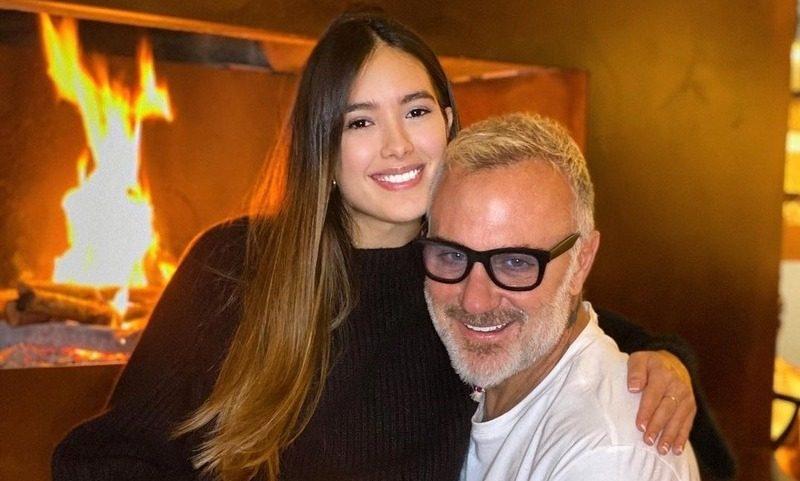 «Танцующий миллионер» Джанлука Вакки показал лицо дочери, родившейся с «волчьей пастью»