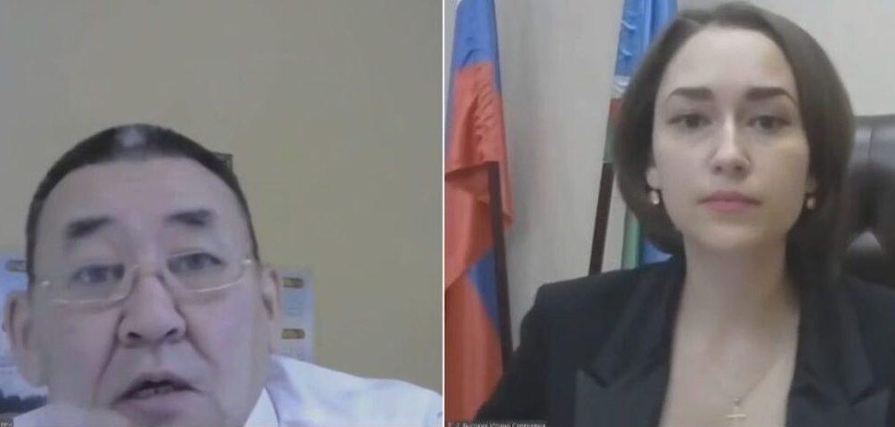 Глубокое декольте министра настолько смутило якутского депутата, что он прервал заседание Госсобрания
