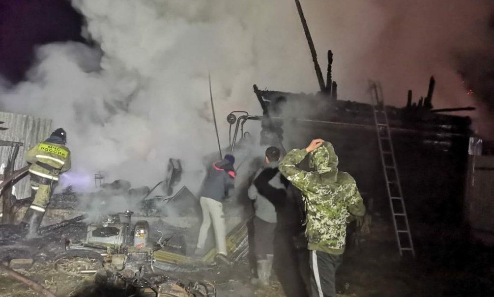11 человек погибли при пожаре в доме престарелых в Башкирии