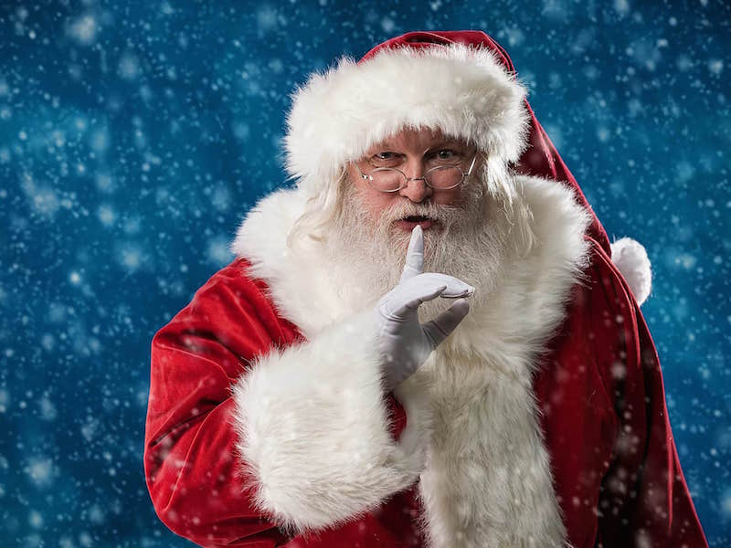 «Дед Мороз с антителами»: к Новому году россиянам предложили коронавирусную услугу