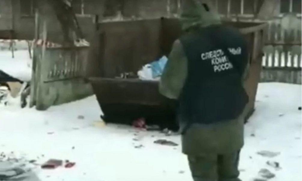 Под Тверью знакомые убили девушку, выбросили с четвертого этажа и унесли в мусорку