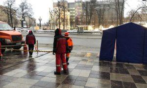 Перекладывают плитку и подтягивают бронетехнику: как в Москве готовятся к акции в поддержку Навального