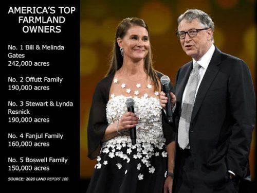 Билл Гейтс тайно скупает пахотные земли, пока ООН предупреждает мир о грозящем голоде из-за ковида