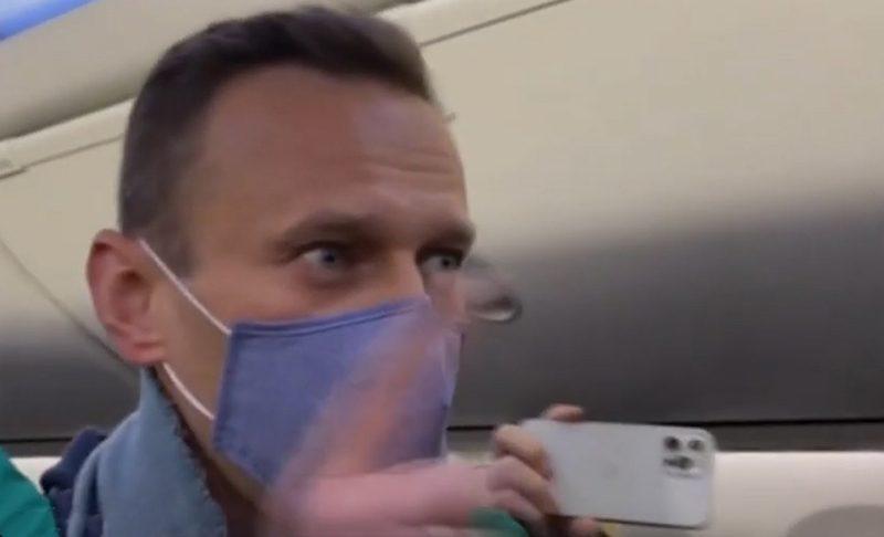 Навальный из самолета: