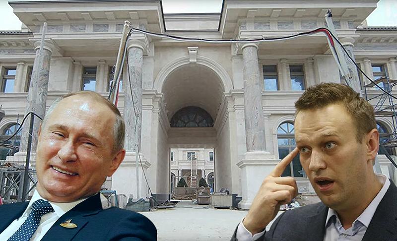 """Журналисты попали во """"дворец Путина"""""""